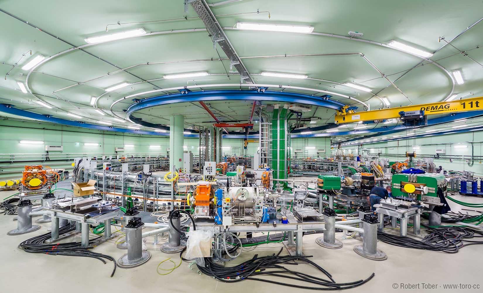 Ionenbeschleuniger-Baustelle © Robert Tober