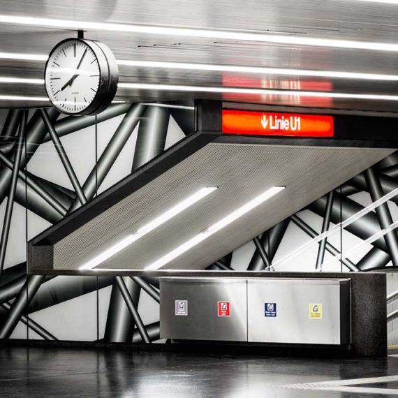 Zwischenebene als Zugang zu U1 © Robert Tober