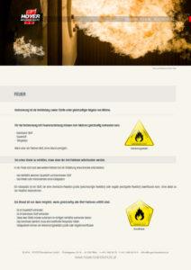 Feuer - Glossarblatt als PDF-Download