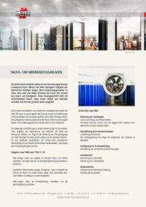 Rauch- und Wärmeabzugsanlagen - Glossarblatt als PDF-Download