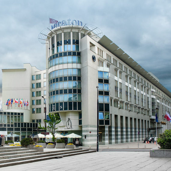 Sheraton Hotel Warszawa · Robert Tober Architekturfotograf Wien