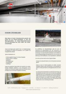 Schaumlöschanlage - Glossarblatt als PDF-Download