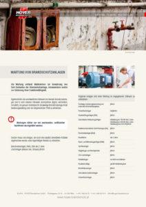 Wartung von Brandschutzanlagen - Glossarblatt als PDF-Download