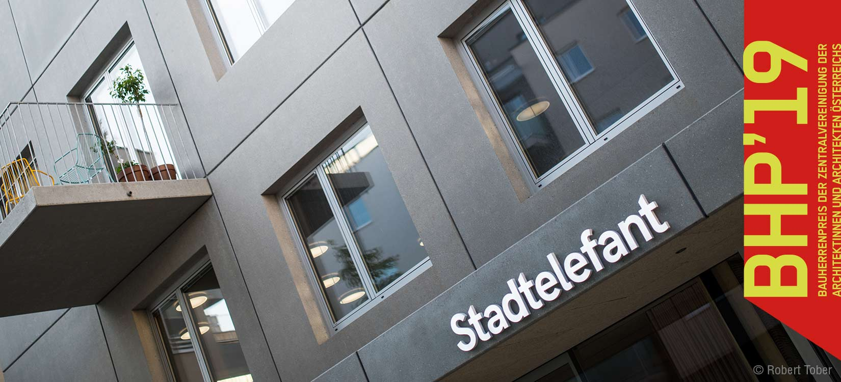 Stadtelefant in der Bloch-Bauer-Promenade erhält Bauherrenpreis der Zentralvereinigung Österreichs · © Robert Tober