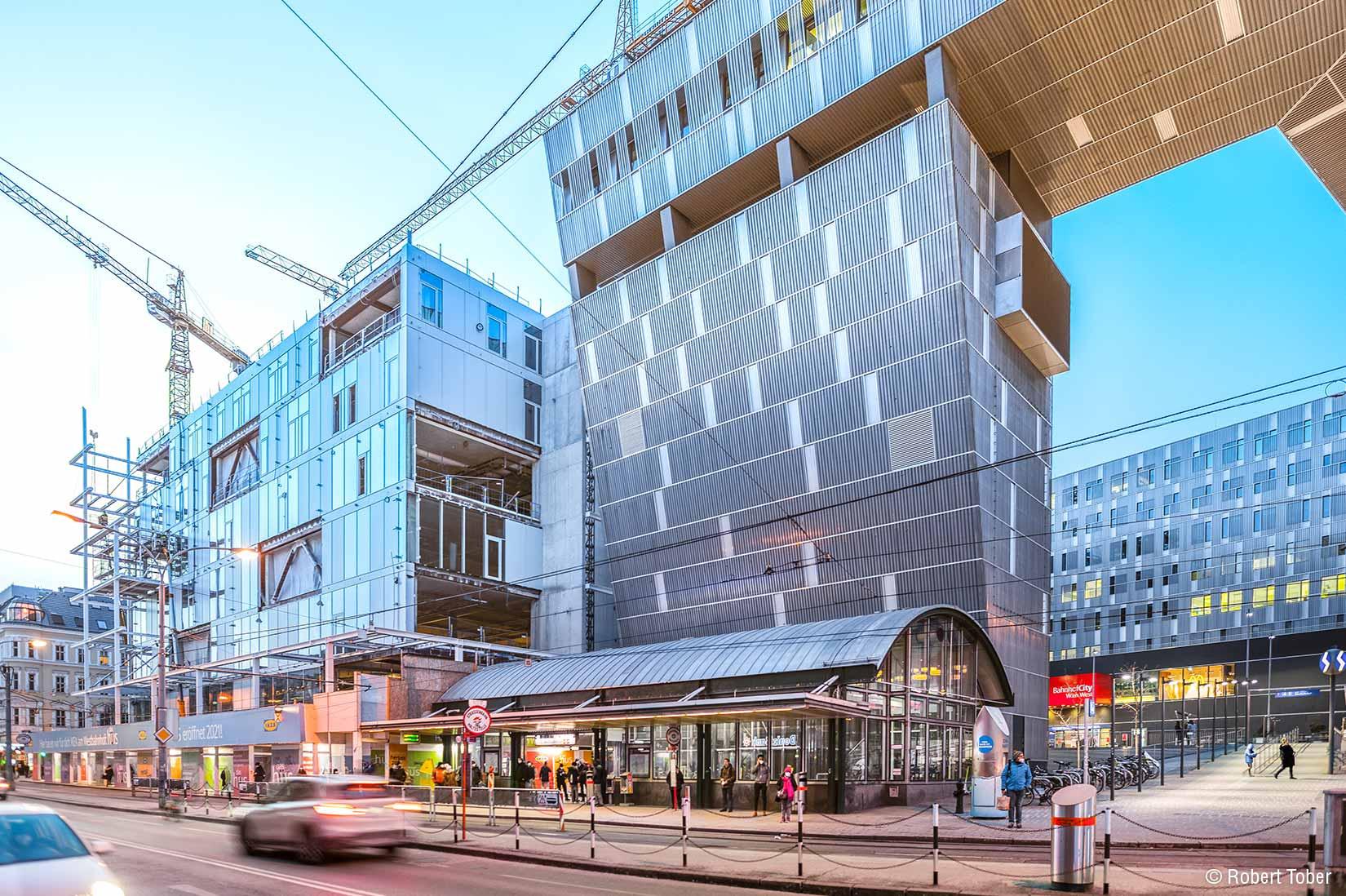 IKEA Westbahnhof Wien · Hoyer Brandschutz © Robert Tober