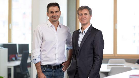 Martin Tomek und Werner Hoyer-Weber